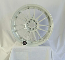4 ROTA WHEEL SVN 18X10 DUAL: 5X100 & 5X114.3  30 73  WHITE