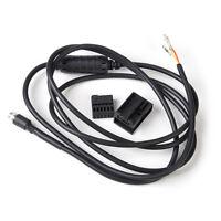 Neu AUX Auto Audio 3.5 mm Female Musik Kabel Adapter für BMW E60 E63 5er 6er