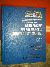 1992-95 MOTOR ENGINE PERFORMANCE DRIVEABILITY SERVICE MANUAL CHEVY CADILLAC