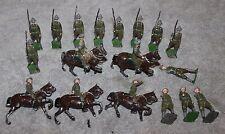 VINTAGE BRITAINS SOLDIERS PRE WAR PROPRIETORS ARTICULATED US ARMY