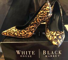 WHITE HOUSE BLACK MARKET~Leopard Pattern Pumps~NIB~8M~Limited Edition