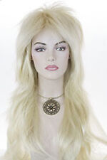 Light Pale Blonde Blonde Long Straight Costume Wigs Men Wig