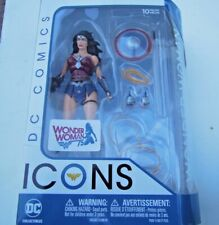 Dc Collectibles Icons Wonder Woman Action Figure 75th Anniversary