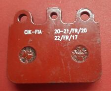 REAR BRAKE PADS IN RED FITS CRG ENERGY GOLD KZ X30 ROTAX IAME