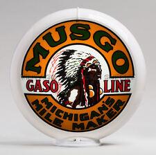 "Musgo 13.5"" Gas Pump Globe (G153) FREE SHIPPING - U.S. Only"
