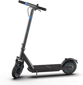 Brookstone Electric Scooter BluGlide Elite 10+ 350W Motor LED Display 3 Speed