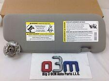 08-10 Saturn Vue 08-14 Chevrolet Captiva LH Titanium Sun Visor new OEM 22771484
