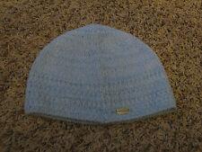 EUC Wmns L/XL Light Blue Soft Knit Columbia Beanie