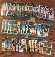 HUGE Jose Canseco Card Lot (102) All Early Years!