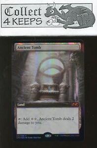 MTG Ultimate Masters Box Topper Foil: Ancient Tomb (Nrmt)