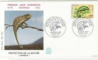 France 1971 Nature Protection Pic Slogan Cancels + Stamp FDC Cover Ref 31715