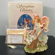 "Seraphim Classics Danielle Messenger of Love Angel Figurine Mib with Coa 8"""