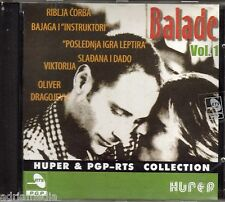 Balade CD Viktorija Riblja Corba Bajaga Yu Grupa Best Hit SerbienPiloti Galija