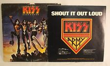 KISS Destroyer Vintage 1976 Casablanca Vinyl LP Record Album Army Sleeve