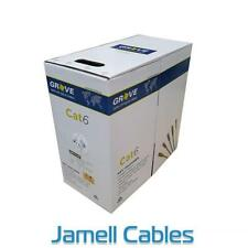 Grove CAT6 4 Pair Pink LAN Cable Box 305m AS-GN0010