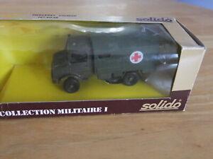 Solido Military Mercedes Unimog Ambulance - 1/50 Scale Khaki BOXED