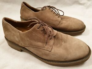 Marks & Spencer Suede Formal Lace Up Shoes with Rubber Soles UK Size 10.5 EU 45