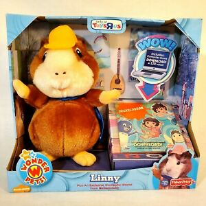 Linny Guinea Pig Nick Jr Wonder Pets Fisher Price Plush and Computer Game