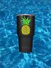 Heart Pineapple Vinyl Car Decal Sticker | For Hydro Flask Yeti Tumbler Bottle