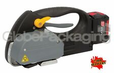 HEAVY DUTY TVX-16 FRICTION WELD BATTERY OPERATED PALLET STRAPPING TOOL MACHINE