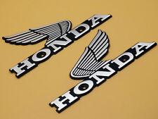 Petrol Fuel Tank Badges Emblem for Honda Nighthawk Wings L/R Motorcycle Custom
