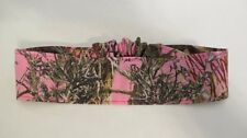 mossy oak breakup realtree camo pink cotton headband MC2 stretch fabric hunter