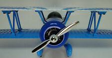 Vintage Aircraft Airplane Metal Rare Pre WW2 Military Armor 1 48 Carousel Blue