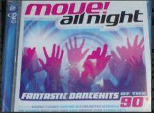MOVE! ALL NIGHT - FANTASTIC DANCEHITS OF THE 90's (2 CD - 2003) Kristine W...