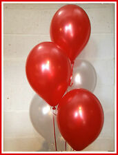 30 Arsenal/Liverpool Football / Christmas Shades - Pearlised Latex Balloons