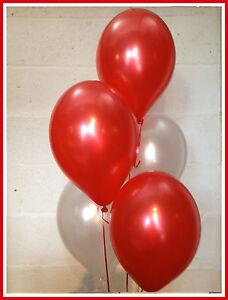 30 Arsenal/Liverpool Football / Christmas Shades - Pearlised Latex Balloons