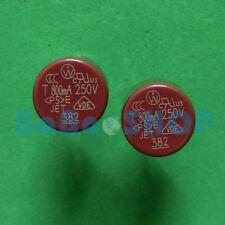 5pcs T800mA 250V 800mA 0.8A TR5 Miniature Slow Blow Micro Sub Min Fuse Brand New