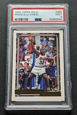 1992 Topps Gold Shaquille O'Neal #362 Rookie HoF PSA Mint 9 Lakers Heat Magic