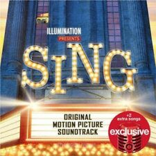 Sing Original Motion Picture Soundtrack CD Target Exclusive NEW