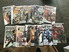 CAPTAIN AMERICA 1 THRU 50 BRUBAKER EPTING MANY DOUBLES DEATH CAP 25 NM VARIANTs