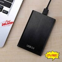 2TB USB 3.0 Portable External Hard Drive Case Ultra Slim One Windows US