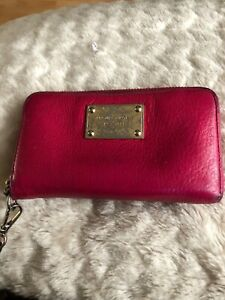 Michael Kors Pink Wristlet Wallet / Purse