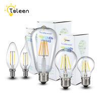 E26 E27 E12 E14 8/16W Retro Edison Filament LED Bulb Dimmable Flame Light Lamp