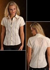 Style: 23S4444-PHS SOLID WITH EMBROIDERY - LADIES SS  ULTIMA