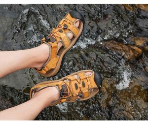 Men sandals beach aqua shoes Light Breathable hiking shoes Outdoor sandals BNWT