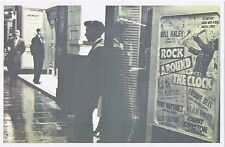 Print P'card of Gaumont Cinema-Bill Haley & Comets(film Rock Around The Clock)