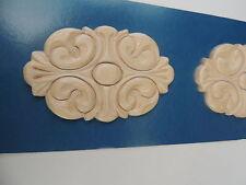 New White Hardwood Ornaments~Onlays~Furniture Hardware~Woodworking~#74