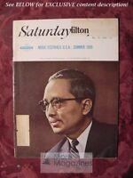 SATURDAY REVIEW May 28 1966 ANTON VON WEBERN U THANT JUNE BINGHAM ELMO ROPER