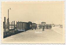 Foto Bahn/Zugfahrt  Ankunft in Polen Lublin Bahnhof 1941   2.WK ( D988)