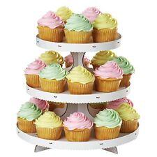 Grand Présentoir À Cupcakes carton Blanc - Wilton