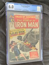 Tales of Suspense #53 CGC 6.0 Marvel Comics 1964 2nd Black Widow Watcher Nice!