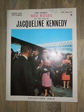 One Dozen Red Roses The Life Story of Jacqueline Kennedy Vintage Picture Book