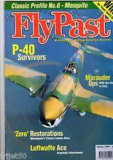 Flypast 1999 January P-40,SAAF Marauder,Dunkeswell,Mosquito,T-28,Howard,Viper