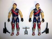 GI JOE TOMAX & XAMOT Vintage Action Figures Cobra COMPLETE 3 3/4 C9+ v1 1985