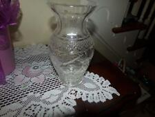 WATERFORD CRYSTAL LAMP PART VNTG. ESTATE BASE/ MIDDLE  RARE PATTERN