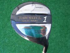 Tour Select Tour Trac Offset Golf Driver 10* Graphite True Shot Shaft NEW RH